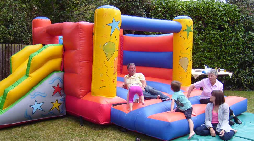 Inflatable slide and Bouncy Castle hire