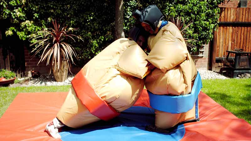 hire sumo suites in Northamptonshire